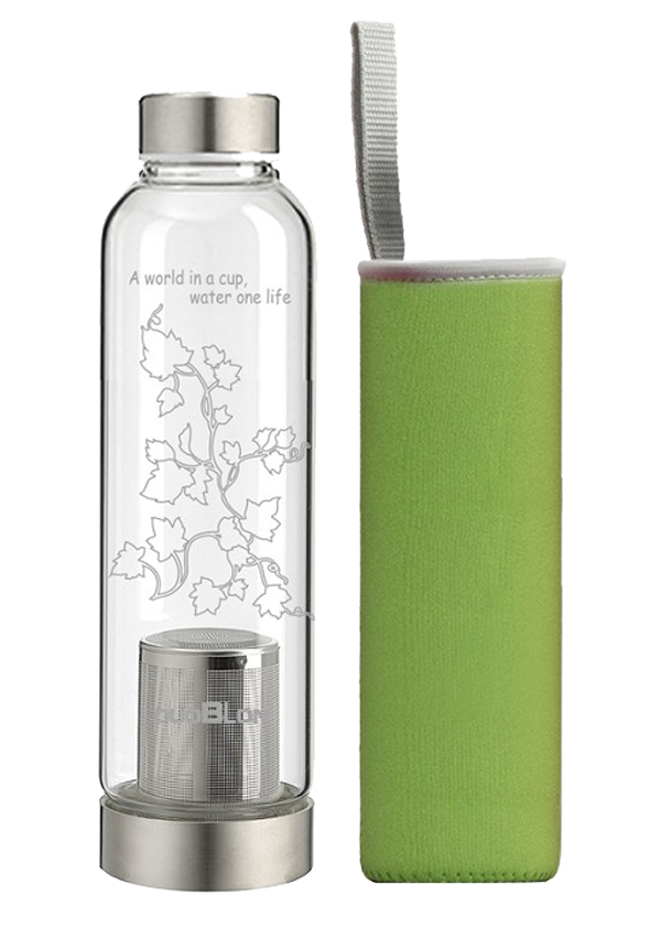 Sports bottle with tea strainers 560ML