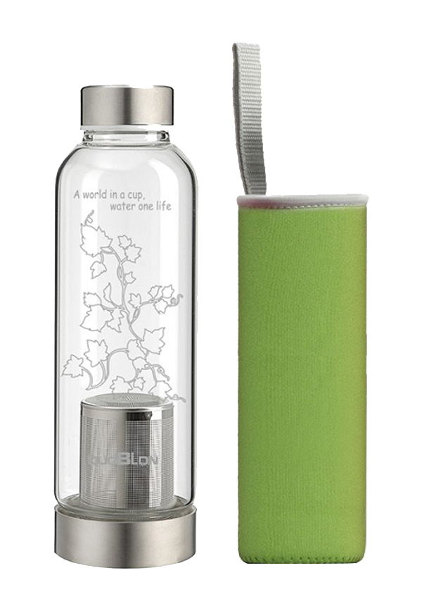 Sports bottle with tea strainers 500ML
